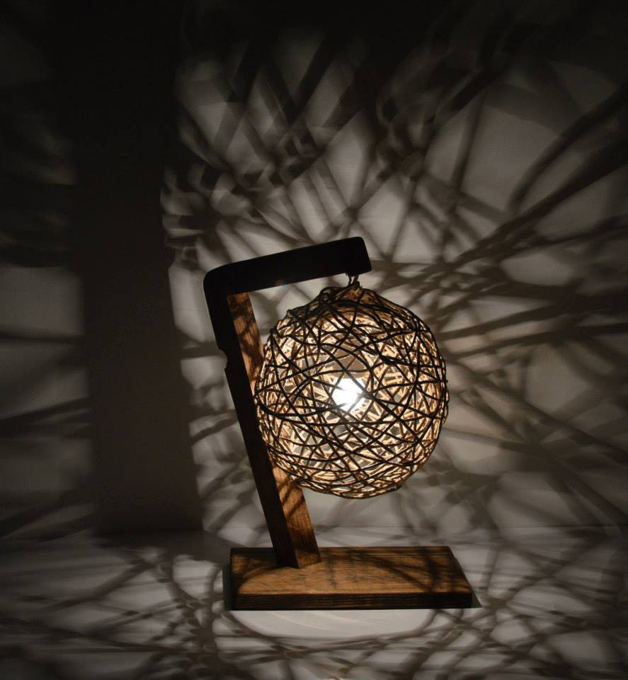 Beautiful Homemade Lamps : Beautiful handmade lamps the art in life