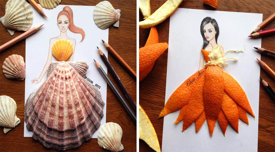 Remarkable Creative Fashion Designs By Armenian Artist