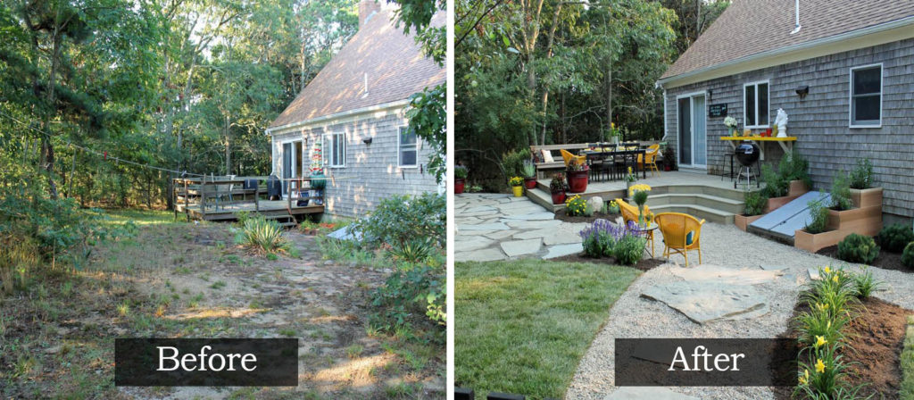 15# Before and After Garden Transformations !!! - The ART ...