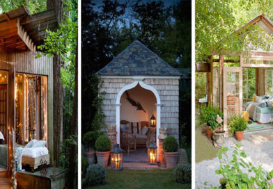 """Forget The Man Cave Looks This Stylish """"She Shed"""" Cave For Women"""