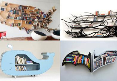 20 Creative Bookshelves Desings