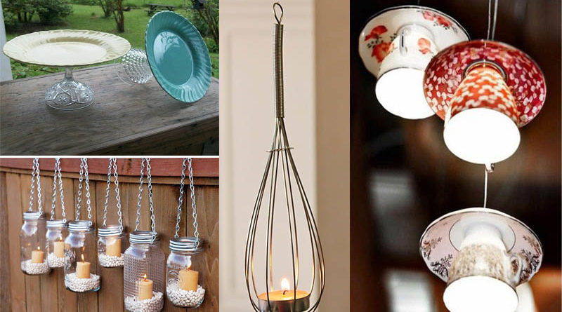 15 Creative Ways To Recycle Old Kitchen Stuff The Art In