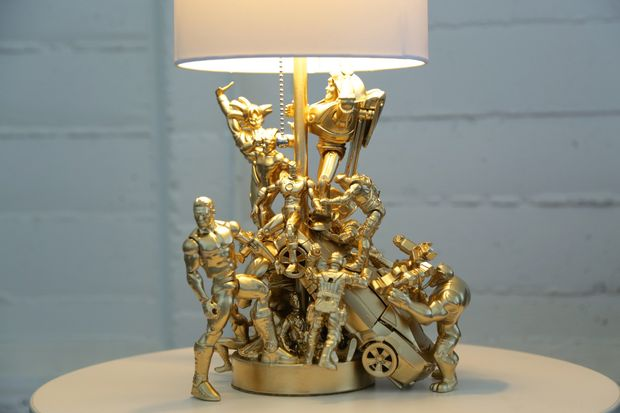 How To Turn Cheap Action Figures Into An Epic Diy Lamp