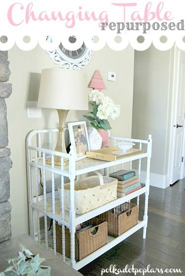 17 Amazing Ways How To Repurpose Old Baby S Furniture