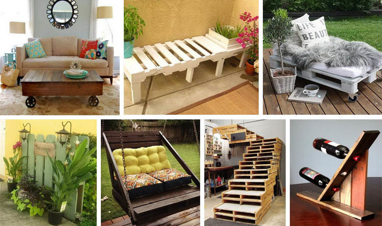 Creative ideas and ways to recycle and reuse a wooden for Ways to recycle wood
