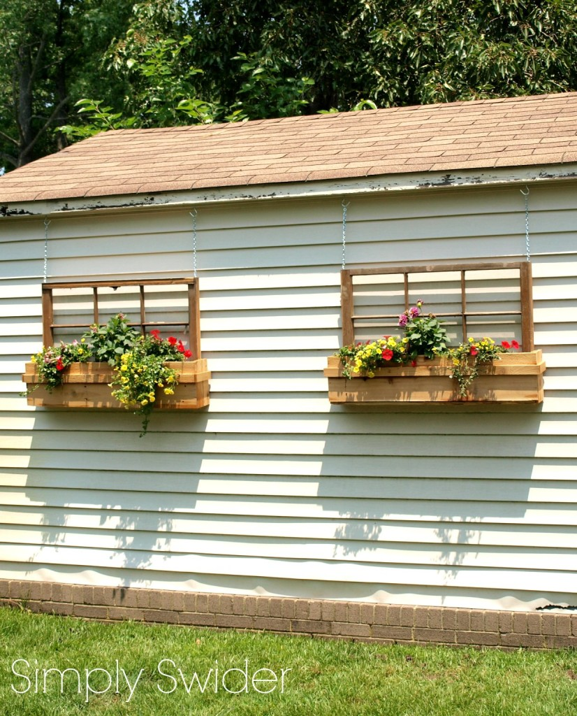 how to make window boxes