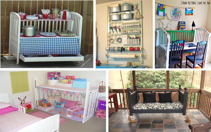 17 amazing ways how to repurpose old baby s furniture the art in life - Great ways of repurposing home furniture ...