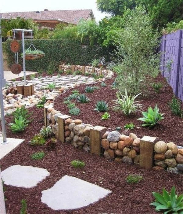 THE ART IN LIFE Garden Bed Edging (14)
