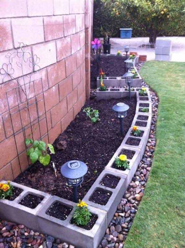 THE ART IN LIFE Garden Bed Edging (8)