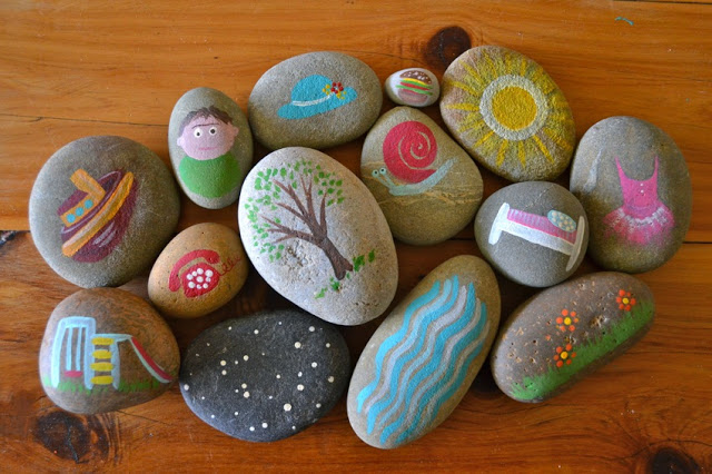 THE ART IN LIFE Rock Painting (12)