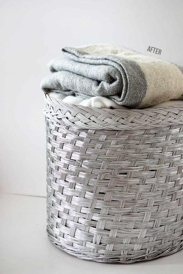 20 Ways Spray Paint Can Make Stuff Look on Painted Wicker Furniture Makeover