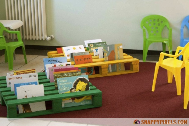 Book Shelves For Kids Diy Used Pallet Projects 34