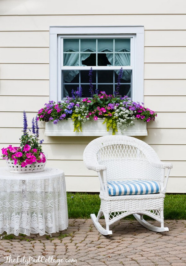 Pretty Window Boxes To Beautify Your House Exterior The