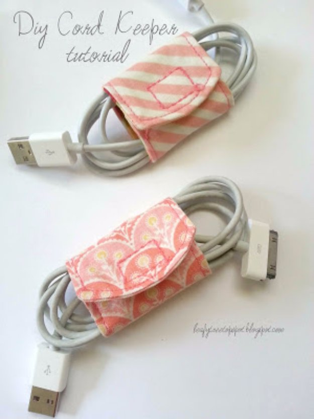 DIY-Cord-Keeper-From-Fabric-Scraps