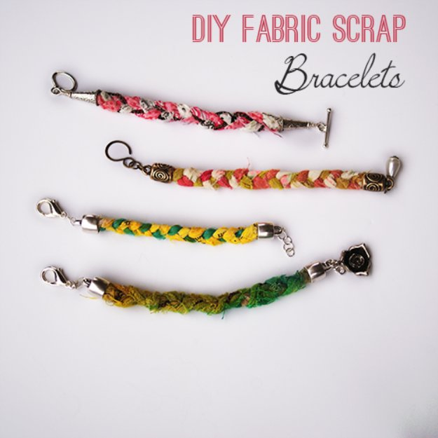 DIY-Fabric-Scrap-Bracelets