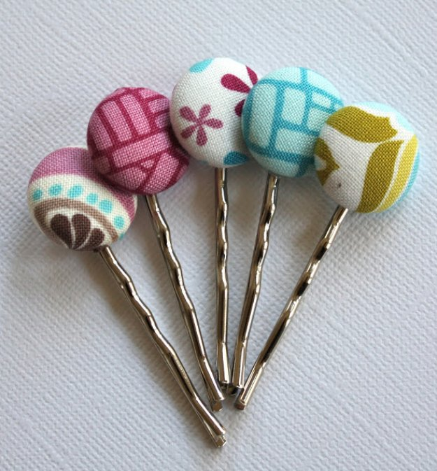 Fabric-Scrap-Bobby-Pins