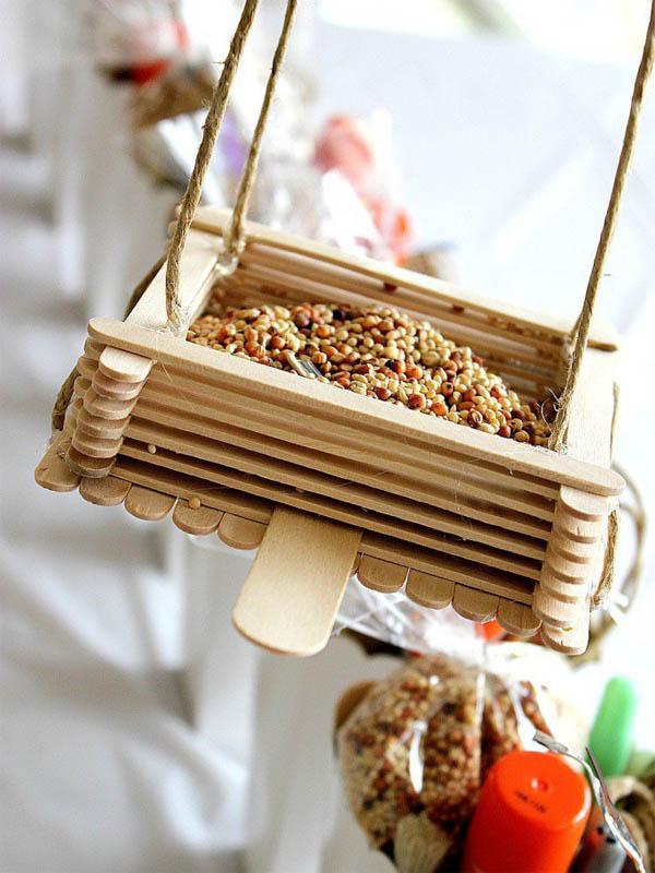 The Art In Life Bird feeders (3)