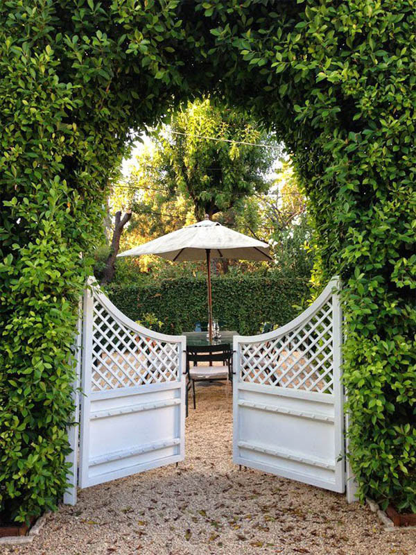 15 creative garden gates that make a great entrances the