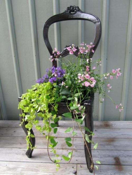 chair-planter