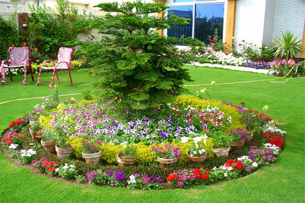 floral-arrangements-of-small-garden