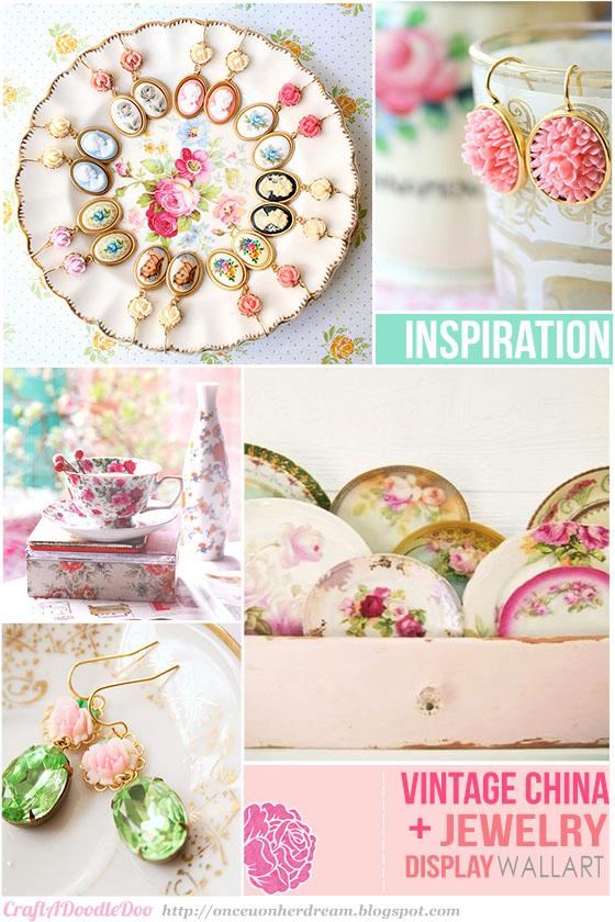 vintage plates inspiration