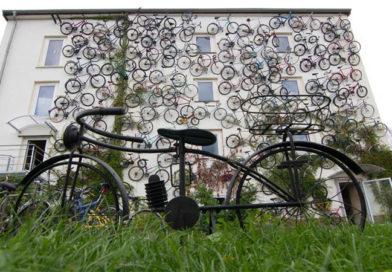 Interesting Bike-Facade In Germany