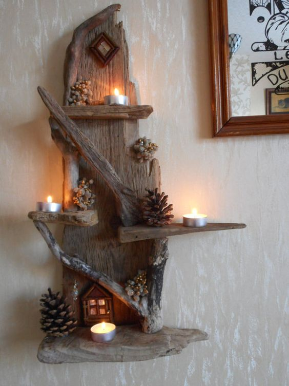 Wonderful DIY Projects You Can Do With Driftwood The ART