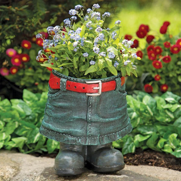 20 Unusual Flower Planters For Your Backyard Who Fall In