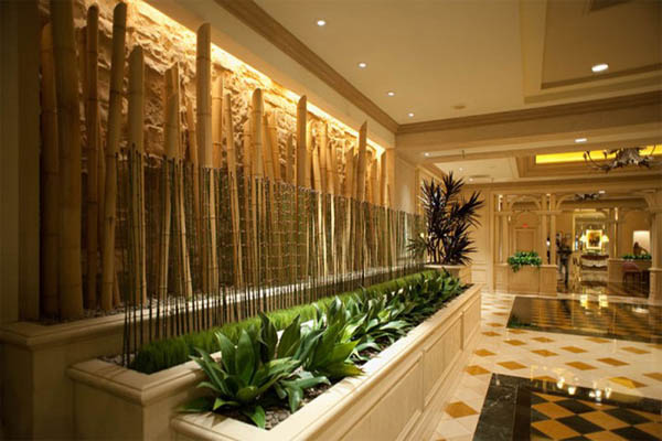 indoor-bamboo-garden-edging-homemade-for-luxurious-interior-design-700x465