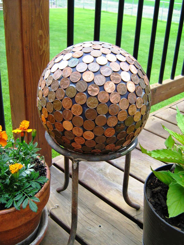penny-balls-for-your-garden