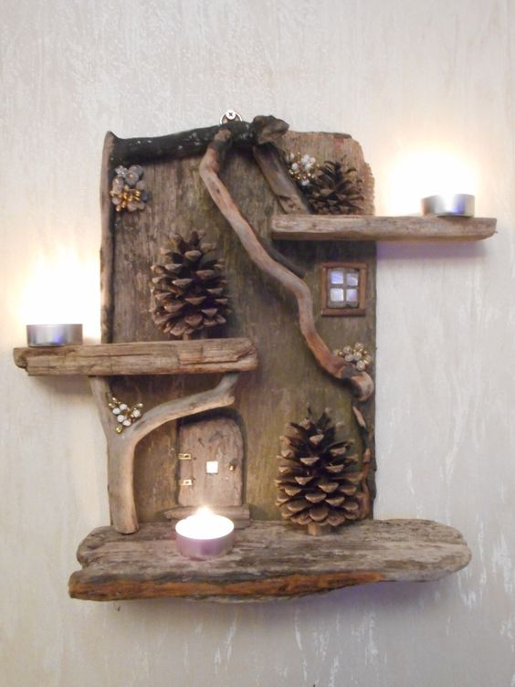 wonderful diy projects you can do with driftwood the art in life. Black Bedroom Furniture Sets. Home Design Ideas