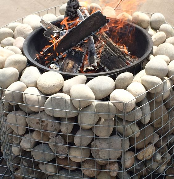20 Fabulous Gabion Ideas For Your Outdoor Area The Art