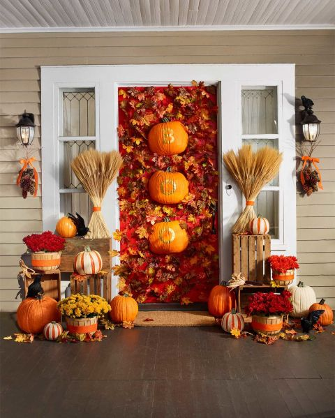 Easy Fall Door Decorations: 20 Fun And Unique Halloween Decorating Ideas