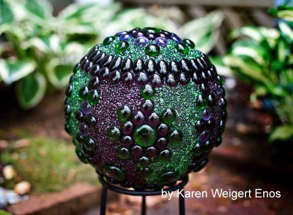 EyeCatching DIY Garden Balls Inexpensive Decorations The ART In LIFE Custom Bowling Ball Garden Decorations