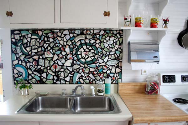 15 Inexpensive Diy Kitchen Backsplash Ideas And Tutorials You Should See The Art In Life