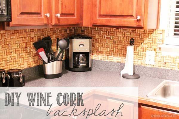 15 inexpensive diy kitchen backsplash ideas and tutorials