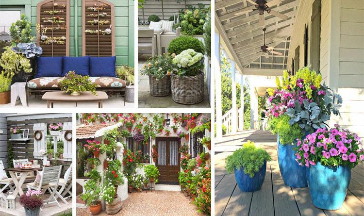 Eye-Catching Wonderful and Creative Patio Planter Ideas