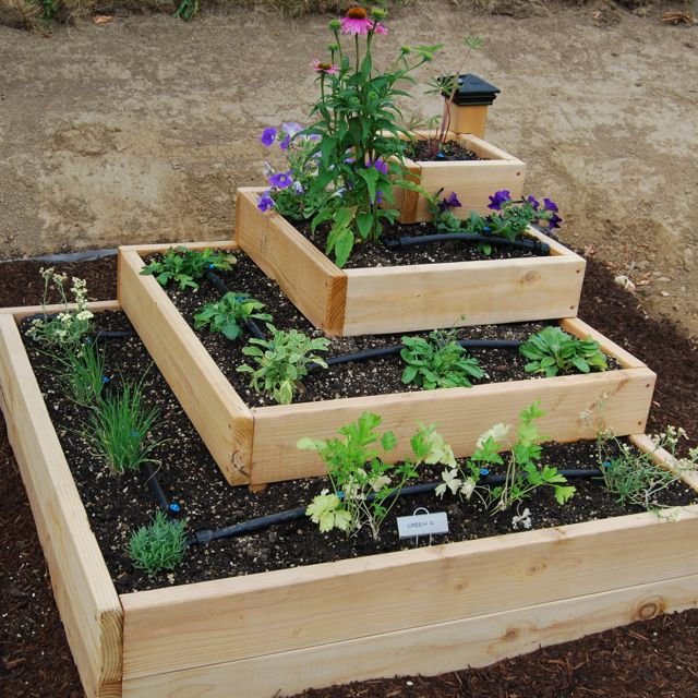 raised-veggie-garden-designs