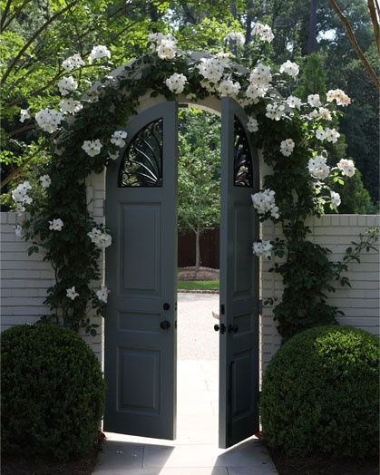 12 Fabulous Floral Garden Gates In Bold Color The Art In