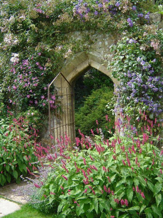 Secret Garden: 12 Fabulous Floral Garden Gates In Bold Color