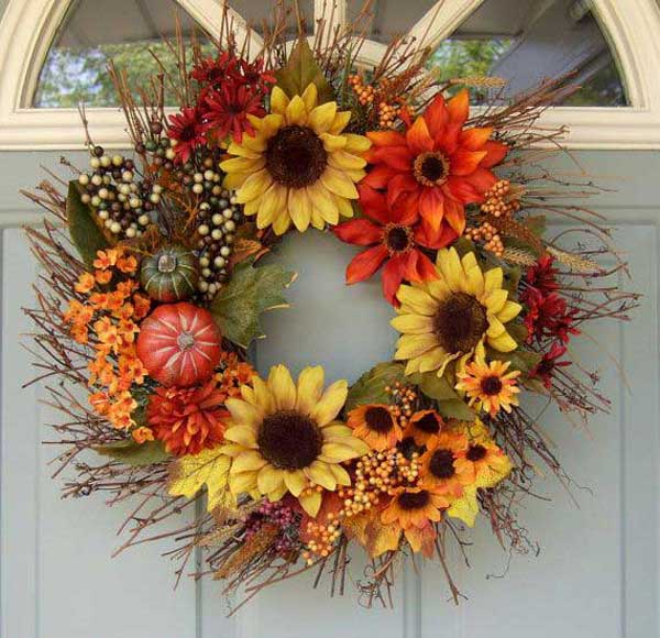 20 Amazing Diy Wreaths To Craft This Fall The Art In Life