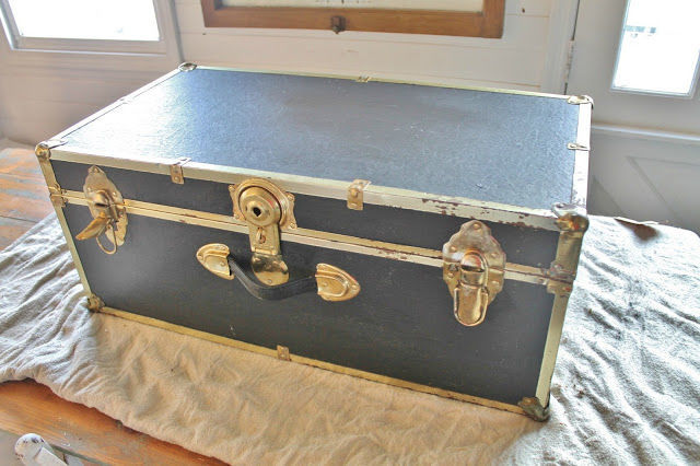 Metal Suitcase Coffee Table