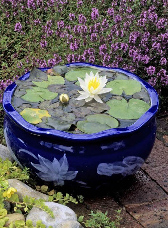 patio-decorating-ideas-mini-garden-pond-design-ideas