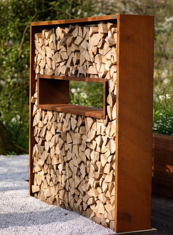 15 Creative Outdoor Firewood Rack And Storage Ideas You