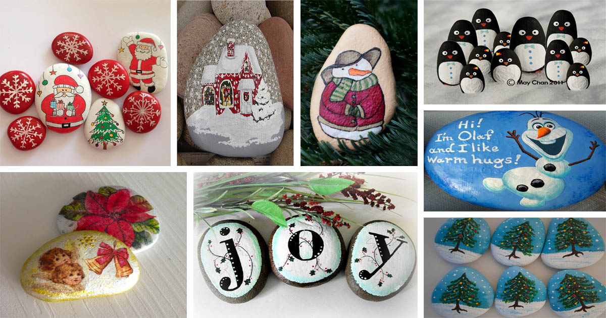 26 Wonderful Ideas Of Painted Christmas Rocks That You Will Love The Art In Life