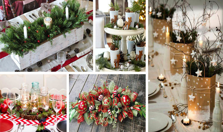 15 gorgeous diy christmas centerpieces - Diy Christmas Centerpieces