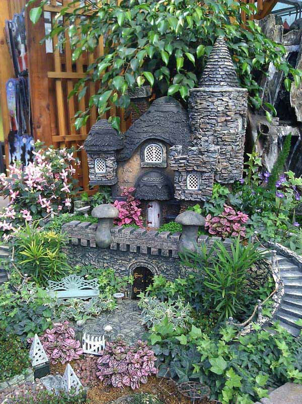 15 Mind-Blowing Miniature Stone Houses To Make Your Garden Gorgeous ...
