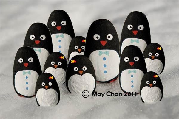 penguine_rock-painting