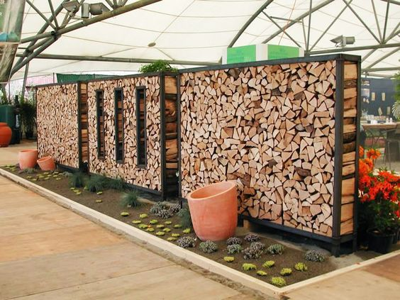 15+ Creative Outdoor Firewood Rack And Storage Ideas You Need To See ...