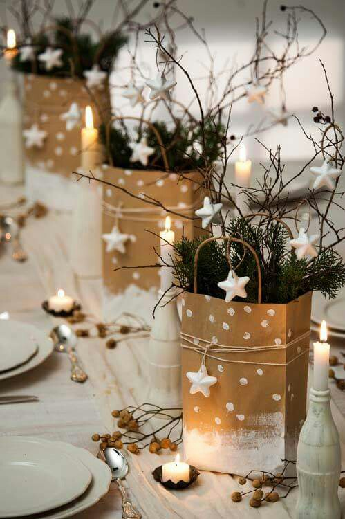 Holiday Decoration Christmas Centerpieces Ideas Dining Table